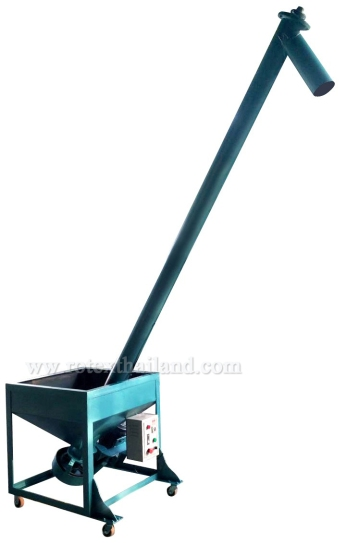 screw-conveyor, ท่อส่ง, ท่อส่งเม็ดพลาสติก, โรเทก, พลาสติก
